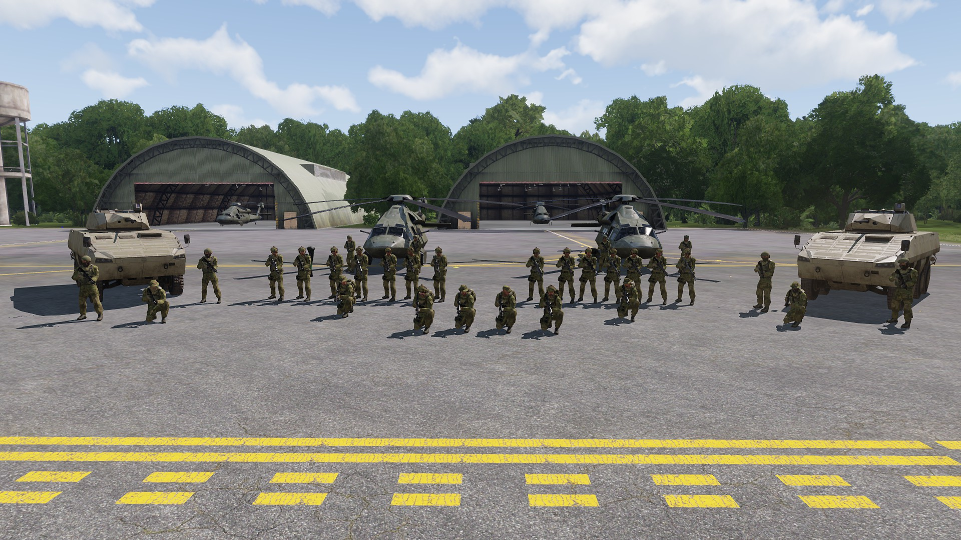 ARMA is better with a team. Join ours!